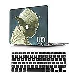 NEWCENT Nuevo MacBook Air 13' Funda,Plástico Ultra Delgado Ligero Cáscara Cubierta EU Teclado Cubierta para MacBook Air 13 Pulgadas con Retina Display Touch ID 2018 Versión(Modelo:A1932),Diablo 29