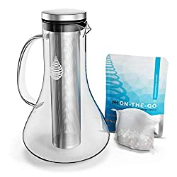 ph replenish alkaline glass filter pitcher