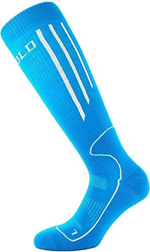 Devold Merino Socken Compression W3 Damen Aqua/White M (37-39)