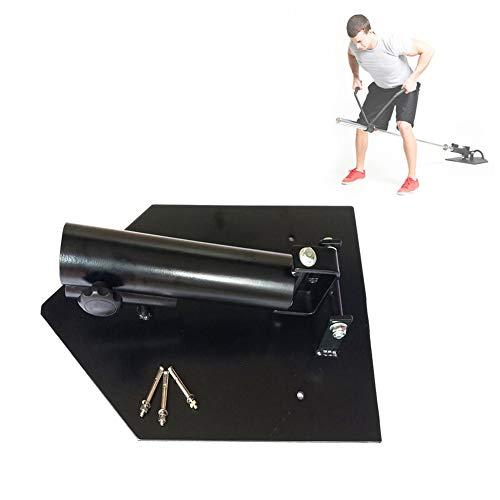 Grist CC 360° T-Bar Ruder Plattform, Landmine Core-Trainer Ruderplattform, Für Standard 2.5 cm(1 In) Und Olympia 5.1Cm(2 In) Hantelstangen