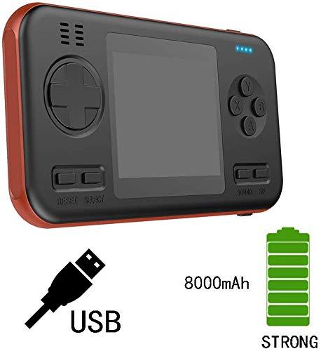 ZGYQGOO Manette Jeu Rechargeable à Distance, Manette Jeu sans Fil, Console Jeu rétro, Manette Jeu PC-Manette Jeu, Accessoires pour Consoles Jeu Portables, émetteur-récepteur Bluetooth, BlackRed