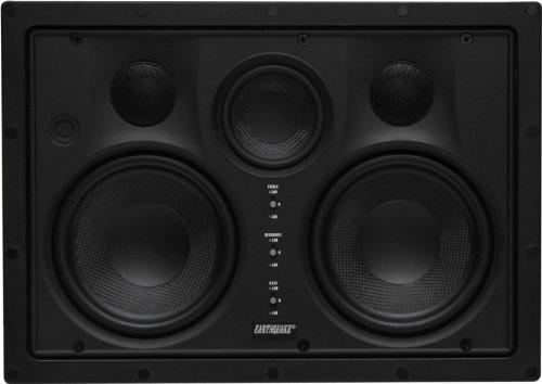 Earthquake Sound EWS-530C Edgeless Series Wandlautsprecher, Schwarz