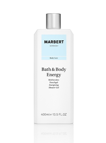 Marbert Bath & Body Energy douchegel, per stuk verpakt (1 x 400 ml)