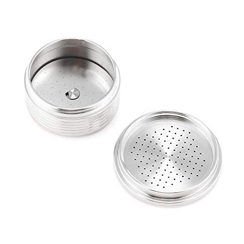 OurLeeme Navulbare Koffie Capsule, RVS Herbruikbare Koffie Filter Cup voor Lavazza Koffiemachine voor Lavazza Espresso Point