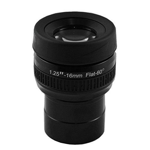 Astromania 1.25' 16mm Premium Flat Field Eyepiece - a Flat Image Field and...