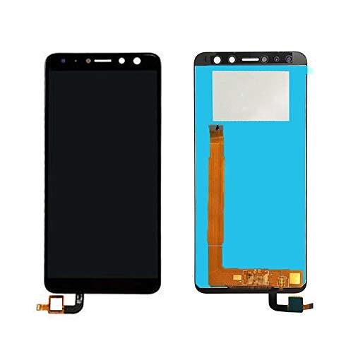 JayTong - visualización LCD y digitalizador de visualización táctil de Repuesto para Wiko View Prime Negro