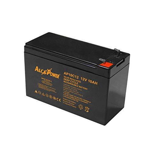 Batteria al piombo ricaricabile ermetica 12V 10Ah per uso ciclico