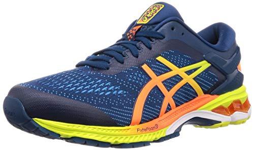 ASICS Gel-Kayano 26, Chaussures de Running Homme, Bleu (Mako Blue/Sour Yuzu 400), 40 EU