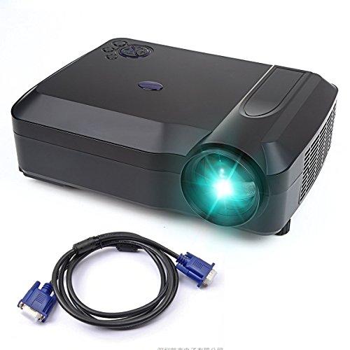 Crenova XPE650 Proyector HD 3200 Lúmenes Resolución 1280*768 Pantalla de Vídeo de...