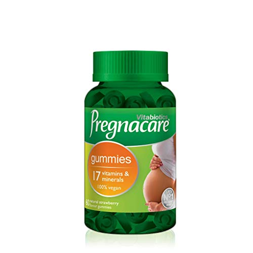 Vitabiotics Pregnacare Gummies 60 Strawberry Flavour Vegan Gummies