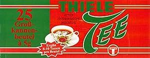 Thiele Tee - Grand sac de boîte de conserve en frison oriental (Thé noir)   Poids Total 125 grams