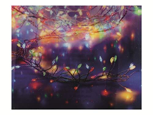Koopman Silverwire Cluster 100 LED Multi luces de Navidad con pilas (AX8720960)
