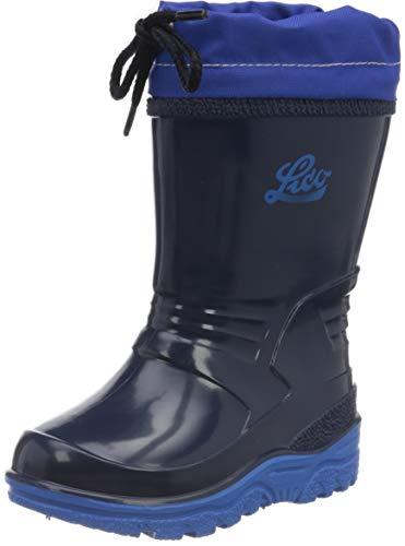 Lico Punto, Bottes & Bottines de Pluie Mixte Enfant, Bleu (Marine/Blau Marine/Blau), 23 EU