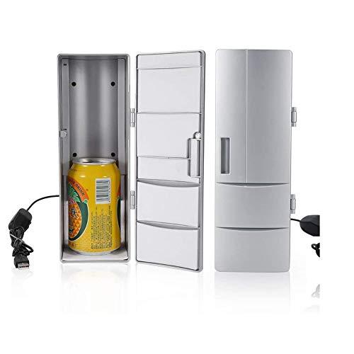 Mini-Kühlschrank-Compact Mini-USB-Kühlschrank Mit Gefrierfach Dosen Trinken Bierkühler Wärmer Reisen Auto Büronutzung-Im Freien Heiß Und Kalt
