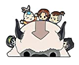 Avatar The Last Airbender Appa and Group Metal Enamel 1.6 Inches Tall Pin