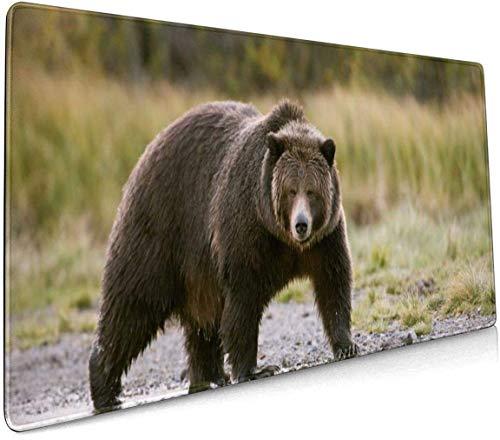 Paard met veulen Profional Grote Muis Pad Toetsenbord Pad Lange ed Multifunctionele Computer Game Muis Mat Eén maat Moose and Bear