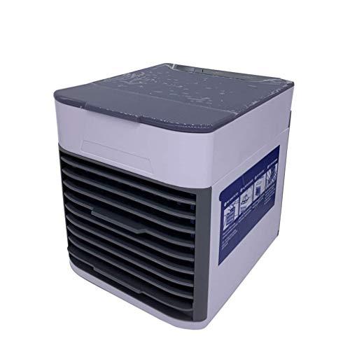 CHUTD mini-luchtkoeler, blazer huishouden, kleine bladloze ventilator, slaapkamer buiten, mini-airconditioningventilator, mini draagbare luchtbevochtiger van de tweede generatie