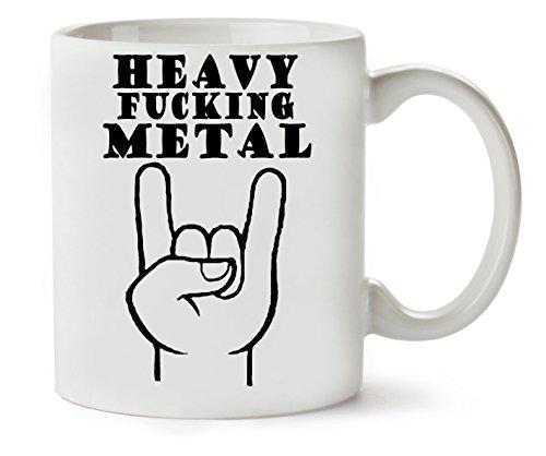 C+P Heavy Metal Klassische Teetasse Kaffeetasse