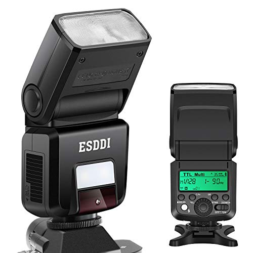 ESDDI Camera Flash for Sony A6000 A7III Speedlight, HSS 1/8000s TTL 2.4G Wireless Speedlite Flash for Sony Mirrorless A7 A7II NEX6 A6300 A6500 A58