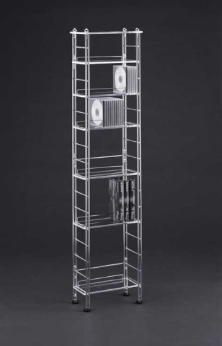 Organize It All 62700W Acrylic CD Storage Unit