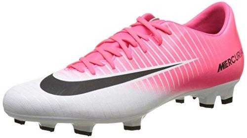Nike Herren Mercurial Victory VI FG Fußballschuhe, Pink (Racer Pink/Black-White-White), 44 EU