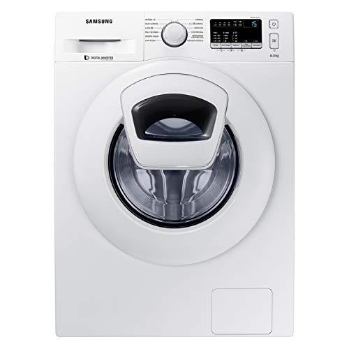 Samsung WW80K4430YW/ET AddWash Lavatrice, 8 kg, 1400 Rpm, Bianco