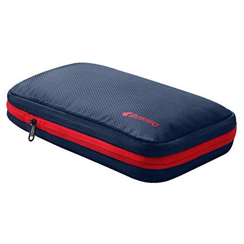 圧縮バッグ 超便利旅行圧縮バッグ 可変スペース ファスナー圧縮で衣類スペース50%節約 軽量 出張 旅行