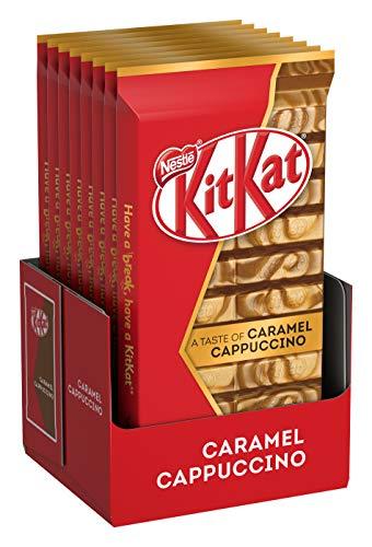 KitKat Nestlé A Taste Of Caramel Cappuccino, 8er Pack (8 x 112g)