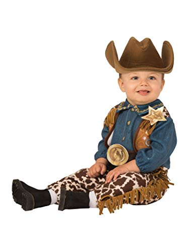 Rubie's Kid's Opus Collection Lil Cuties Little Cowboy Costume Baby Costume, As Shown, Toddler