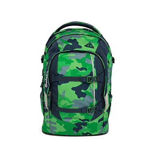 Satch pack zaino scuola 48 cm compartimenti portatile Green Camou