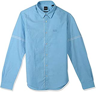 Hugo Boss Shirt for Men, Size S, Light Blue