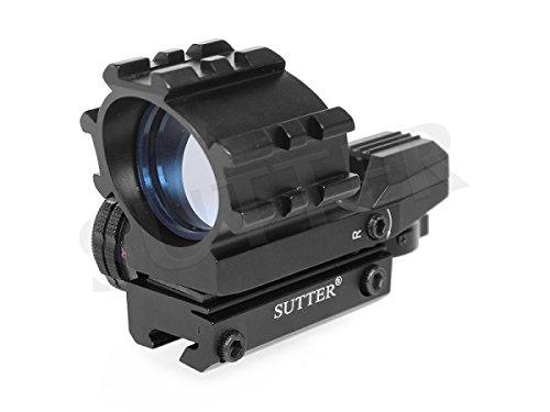 SUTTER Multi Dot Leuchtpunktvisier 1x33 (rot/grün) - Anschluss: 11 mm - Für Standartprismenschienen
