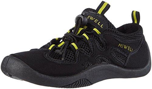 McWell Erwachsene Schwimmschuhe, schwarz/gelb, 44 EU