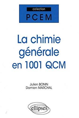 Chimie Generale en 1001 Qcm