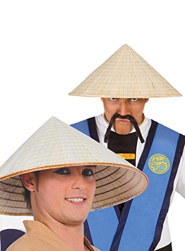 Guirca Fiestas GUI13623 Chapeau de Paille vietnamien