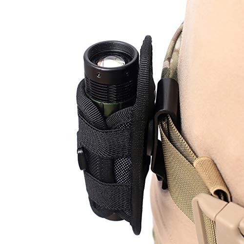 Taschenlampe Halterung, Multifunktions Drehbarer 360 Grad Tragbare Taschenlampen Taillenclip Beutelclip Gürtelhalter Outdoor Klettern