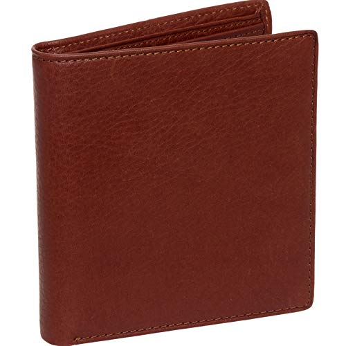 Osgoode Marley Mens ID Hipster Wallet, Brandy, One Size