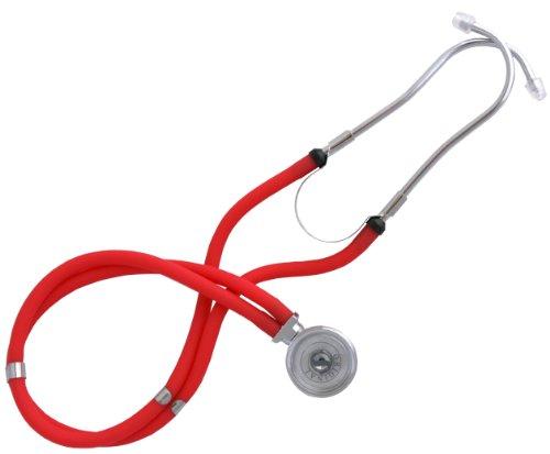 Stethoskop, Rappaport Doppelkopf div. Farben (rot)