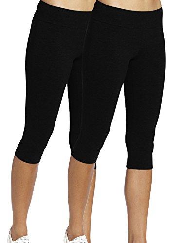 iloveSIA legging damen Zuhause schwarz sport figur leggings Hosen Frauen Running Pants,XL