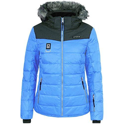 Icepeak Viroqua Ski winterjas voor dames, blauw en grijs