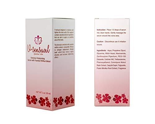 Tightening Feminine serum - Vaginal moisturizing Gel - Best Pueraria Mirifica Root Extract Herbal - Fast Action, Deep Moisturization to Restore Tightness in Vaginal Walls - 100% Natural