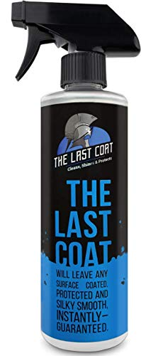 The Last Coat Premium Car Polish Car Wax Ceramic Coating for Cars Water Based Liquid Shiny Coating Protection Detailing Paint Shine Spray for Easy Use Care with Top Coat Sealer 16 oz
