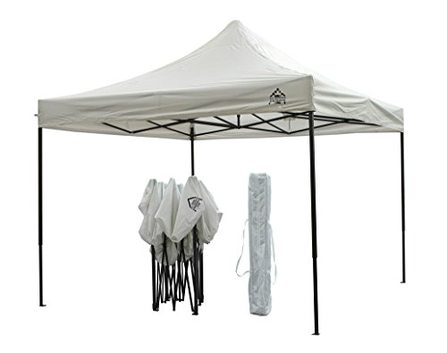 All Seasons Gazebos, Choice Of Colours, 3x3m Heavy Duty, Fully Waterproof, PVC Coated, Premium Pop Up Gazebo, Wheeled carry bag + 4 Leg Weight Bags