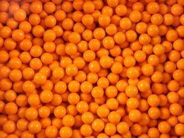FirstChoiceCandy Sixlets Milk Chocolate Balls (Orange, 2 LB)