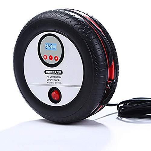 FAINT Auto Doppelzylinder Luftpumpe Haushalt 12 V Elektrische Pumpe Tragbare Notreifenpumpe Luftpumpe Intelligente Digitalanzeige