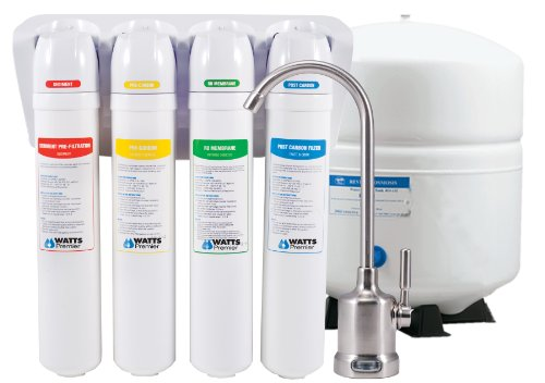 Watts Premier 531418 EZ RO4 Reverse Osmosis with QC 50 GPD Membrane -
