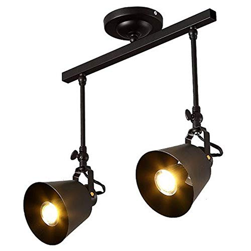 Vnlig Moderne Persönlichkeit Kronleuchter Schmiedeeisen Kronleuchter Scheinwerfer Cafe Restaurant Bar Gang Licht LED Lichtquelle (Design : B)