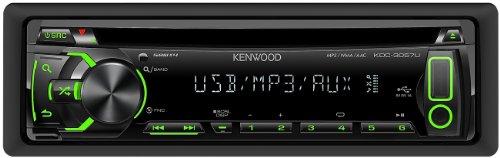Kenwood KDC-3057UG CD/MP3-Tuner (AUX-IN, USB 2.0, grüne Tastenbelechtung)