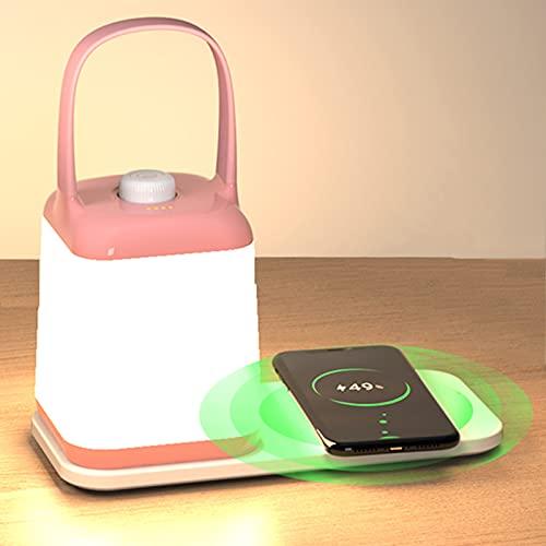 MZBZYU Luz Nocturna Infantil, LED Luz Nocturna, Luz Quitamiedos Infantil para Niños con Brillo Ajustable/USB Regargable, Bebé, Portátil, Luz Nocturna para Amamantar por la Noche