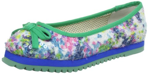 Dolly Do Damen Ballerina Plateau, Blau (Blue 03), 40 EU